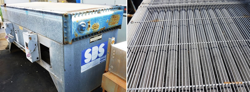 SBS Corp. Air cooled heat exchanger